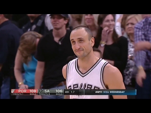 Manu Ginobili Accidentally