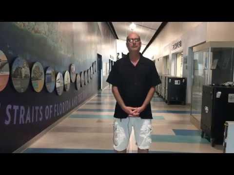 Curator Brad Bertelli Visits Plantation Key School