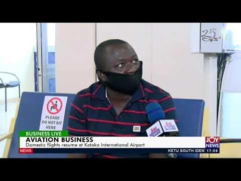 Aviation Business - Business Live on Joy News (1-5-20)
