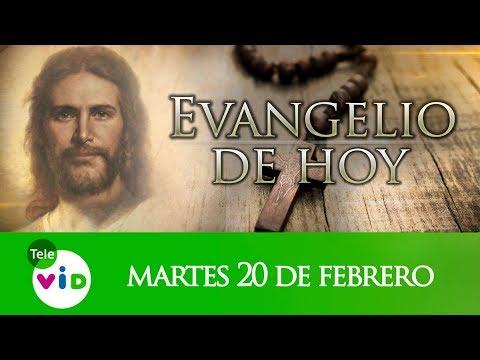 El Evangelio De Hoy Lunes 20 De Febrero De 2018, Lectio Divina Tele VID