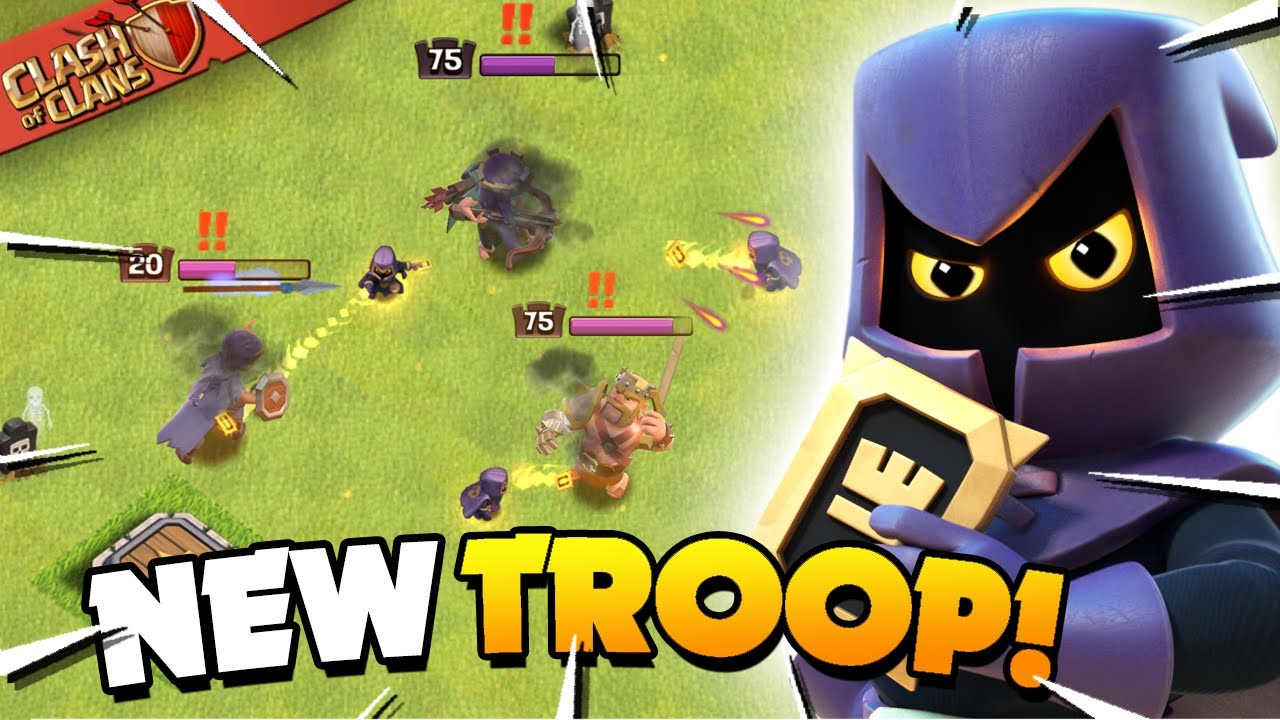 Download Headhunter vs All Heroes! New Clash of Clans Troop!