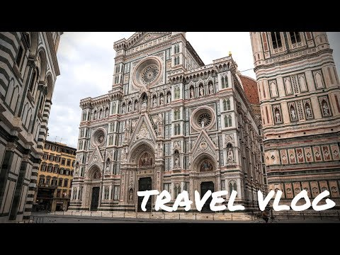 TRAVEL VLOG TUSCANY// ITALY FLORENCE