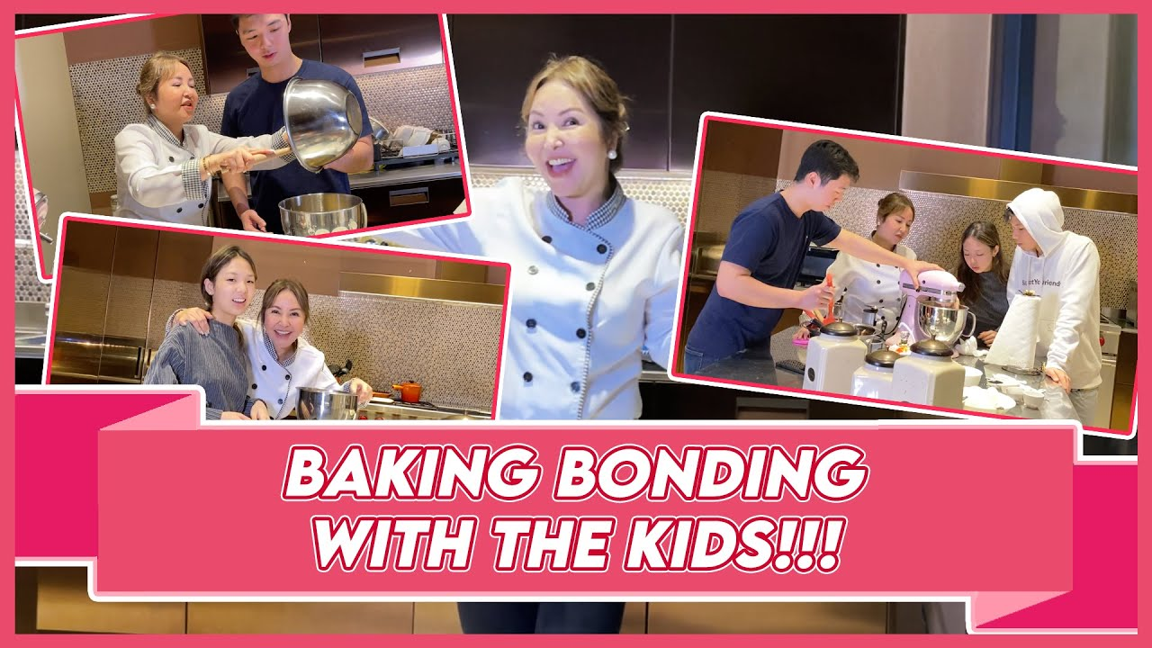 BAKIN' IT TILL WE MAKE IT! I TRIED BAKING WITH THE KIDS! | Small Laude