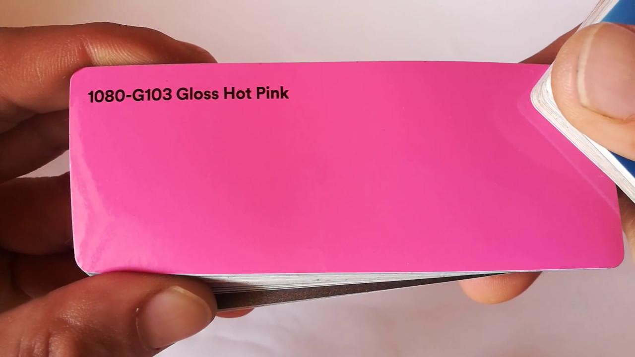 3M 1080 G103 GLOSS HOT PINK VINYL WRAP