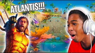 Brand New Atlantis Castle In Fortnite!!!