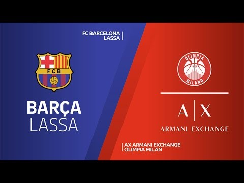 FC Barcelona Lassa - AX Armani Exchange Olimpia Milan Highlights | EuroLeague RS Round 9