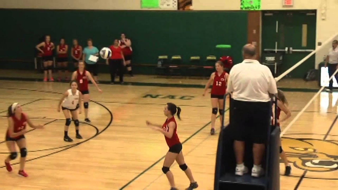 NAC - Saranac JV Volleyball  9-22-15