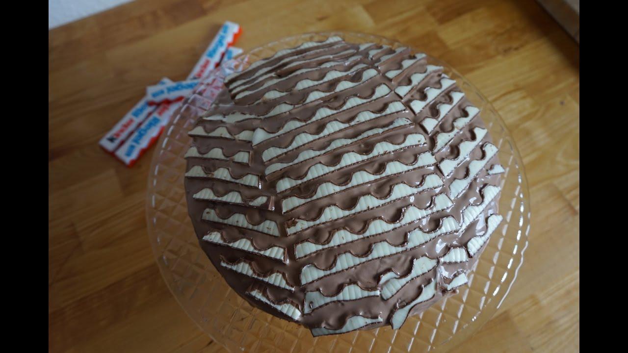 KinderriegelKuchen  Der Etwas Andere Schokoladenkuchen