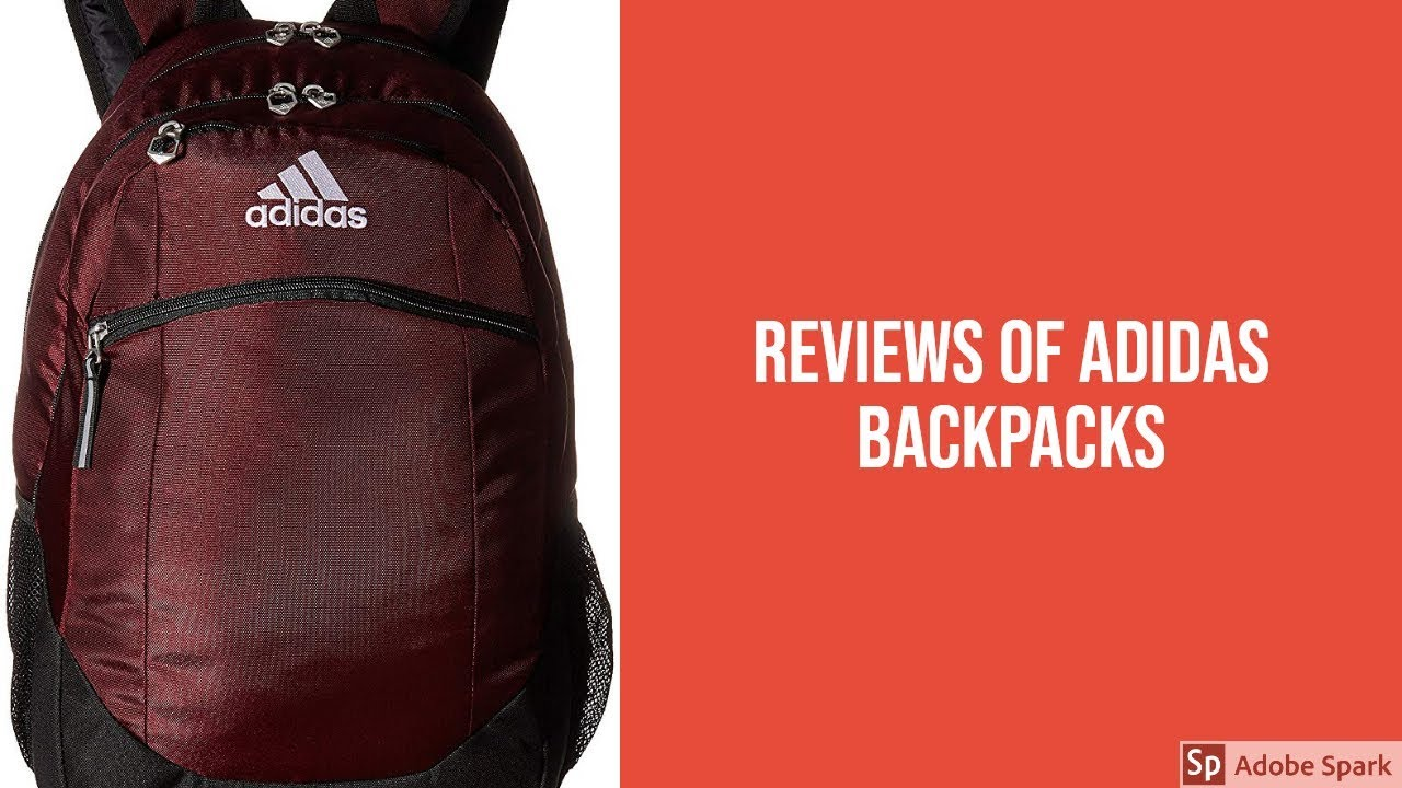 d0371d4bcc17 Reviews of Adidas Backpacks - Best Adidas Backpacks Can Buy - YouTube