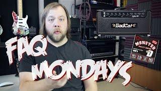 FAQ Mondays: String Gauges, Bad Cat Amps & Hearing Loss