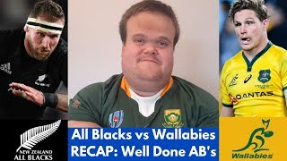 All Blacks vs Wallabies RECAP | Bledisloe Cup 2019