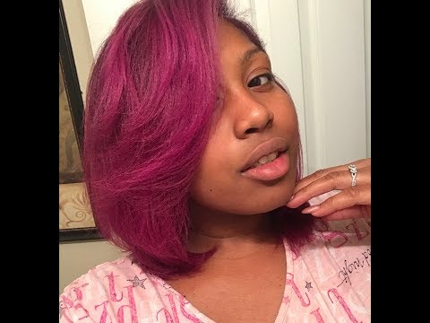 My NEW Fall Hair Color | Wild Orchid
