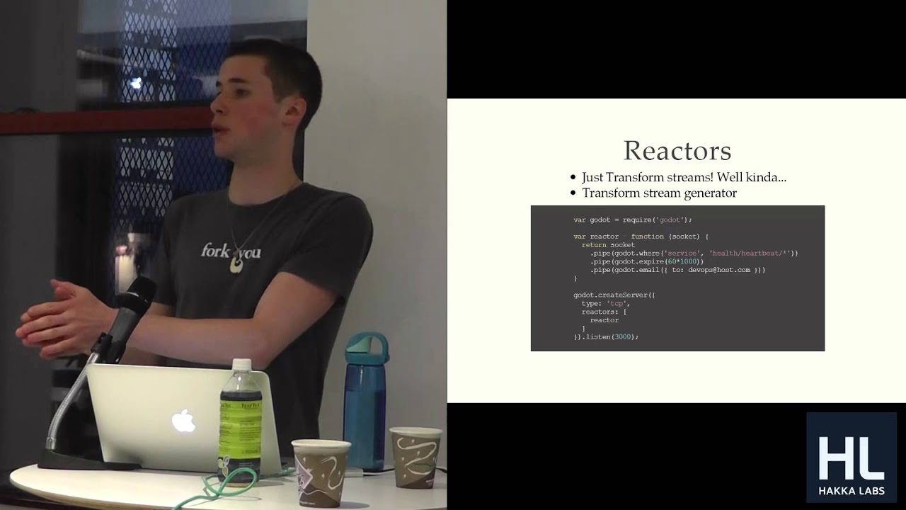NodeJS Tech Talk: Streaming Real-time Event Monitoring with Godot