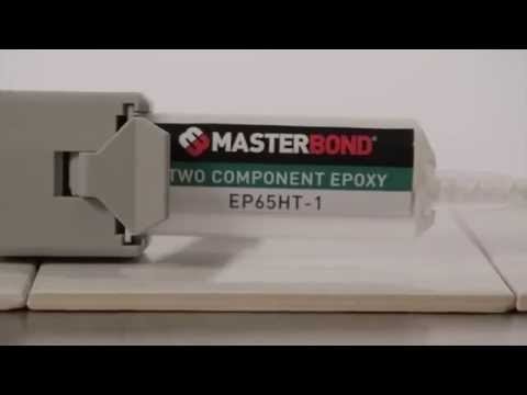 How to use Master Bond EP65HT-1 super fast curing epoxy