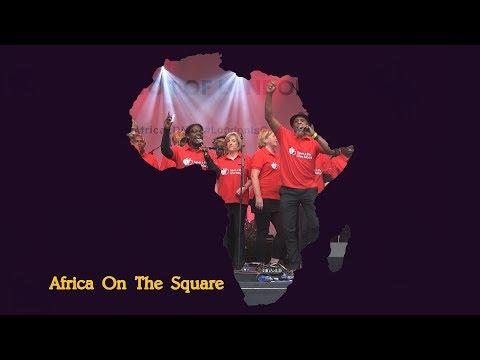 Africa on the Square 2017 - MOBO  Choir - Trafalgar Square London