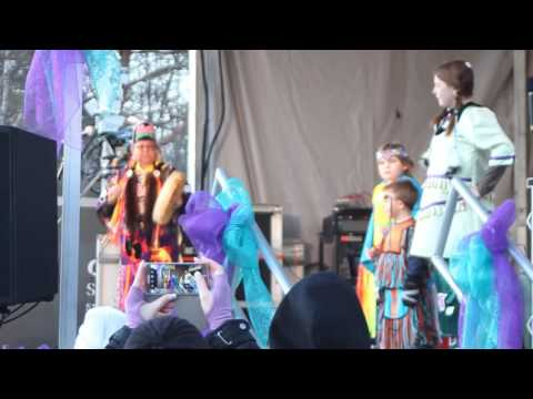 Chippewas of Nawash Performance at Wiarton Willie