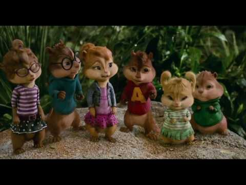 Alvin and the Chipmunks Chip-Wrecked - Bad Romance Dance Scene