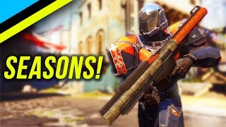 Seasons Coming To Destiny 2! | Clan Levels & Rewards!