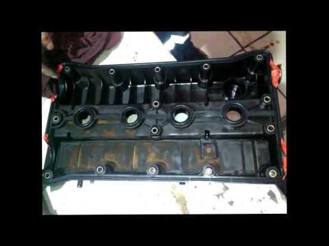 Daewoo Nexia - Замена прокладки крышки клапанов 16кл