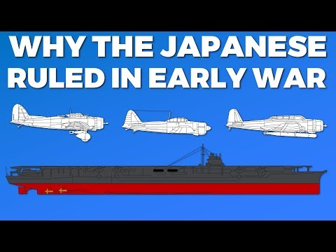 How the Japanese Carriers were so effective
