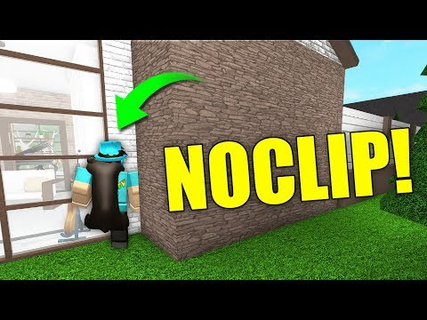 How To Glitch Through Walls In Welcome To Bloxburg Roblox Youtube