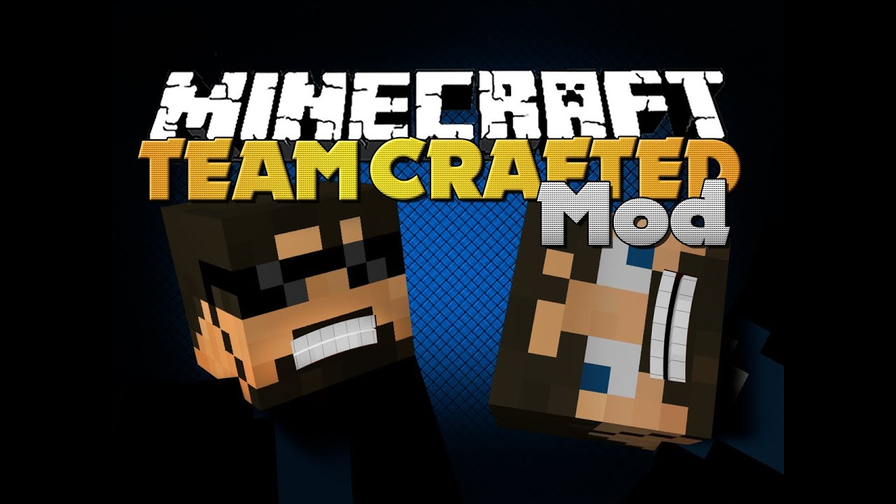 Minecraft Mod - Team Crafted Mod - SSundee - YouTube