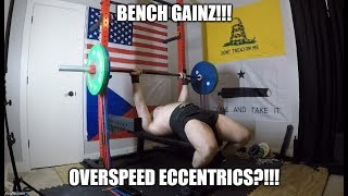 Touch & Go Instead Of Pausing On Speed Bench - Breaking Rules For More Gainz!!!