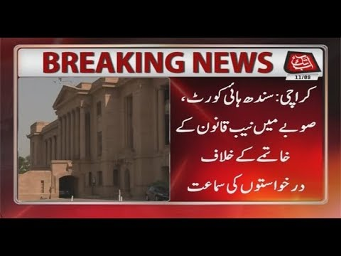 Karachi: SHC Hears Petition Against Anti-NAB Law