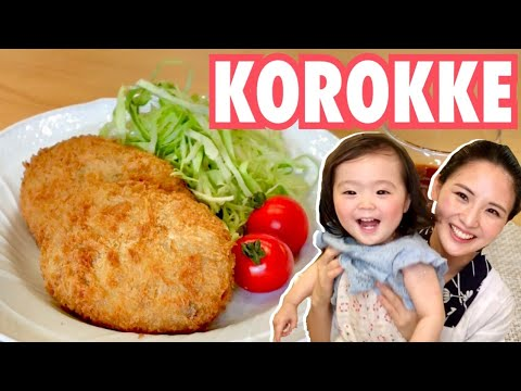 KOROKKE/JAPANESE FOOD COOKING/Croquette