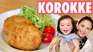 KOROKKE/JAPANESE FOOD COOKING/Croquette