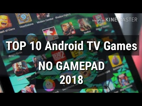 Best Android TV Games Without Gamepad 2018