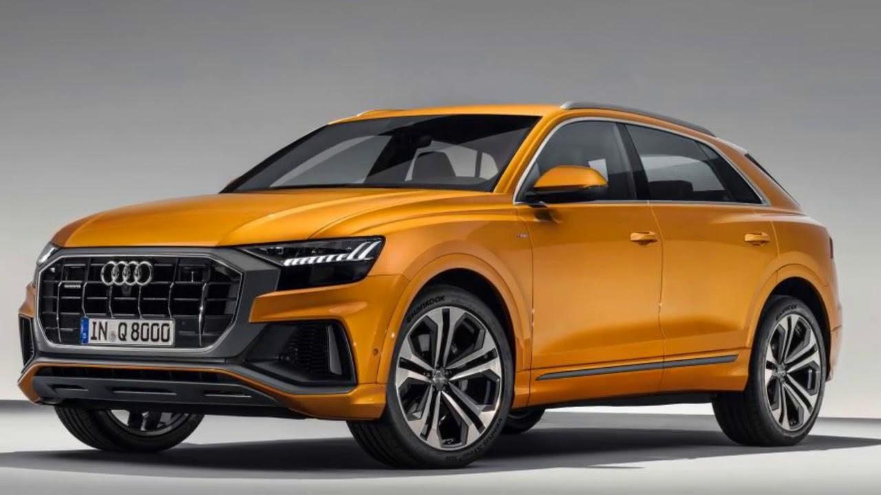2020 New Audi Q8 SUV