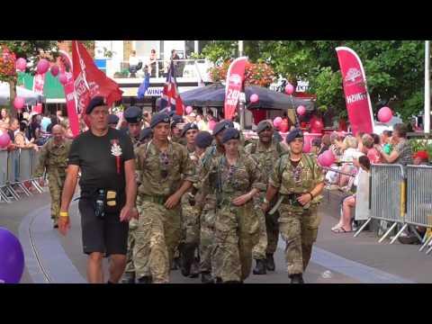 4 Days Marches Nijmegen 2017 day 2 Wijchen part 3 of 8 videos all military
