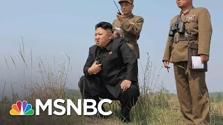 President Trump Signals Risk Of 'Major, Major Conflict' With North Korea | Morning Joe | MSNBC