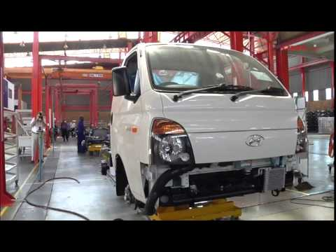2249a40c92 Hyundai starts local H100 assembly - YouTube