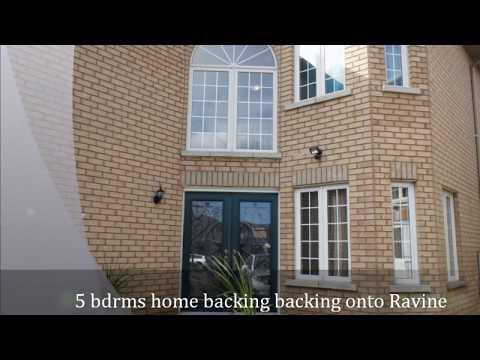 373 Faith Drive, large 5 bedroom home backing onto Ravine, Albert Lai Real Estate 416-617-0982