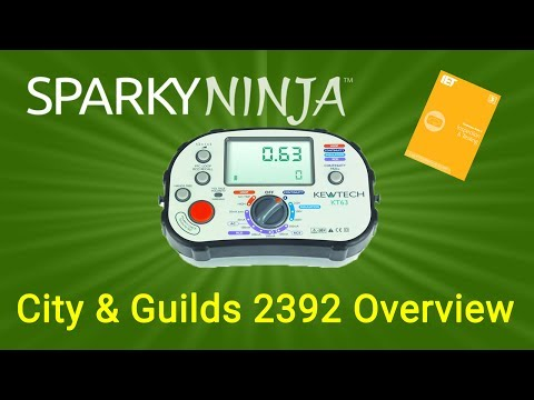 City & Guilds 2392 - Inspection and Testing Course overview