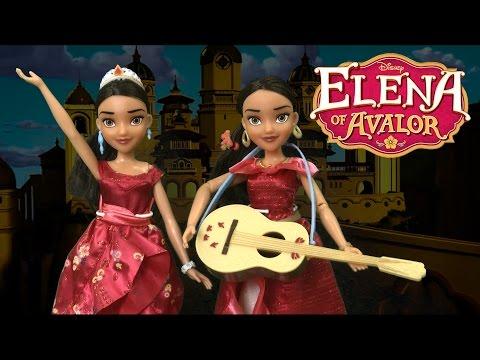 Elena of Avalor My Time Singing Elena of Avalor & Elena of Avalor Royal Gown from Hasbro