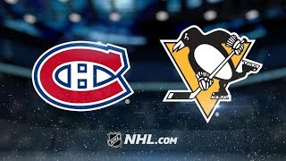 Montreal Canadiens vs Pittsburgh Penguins – Oct. 6, 2018 | Game Highlights | NHL 2018/19 | Обзор