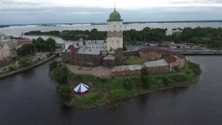 Выборг(Видео снято квадрокоптером Сергея Кошурина., 2016-07-07T13:10:39.000Z)