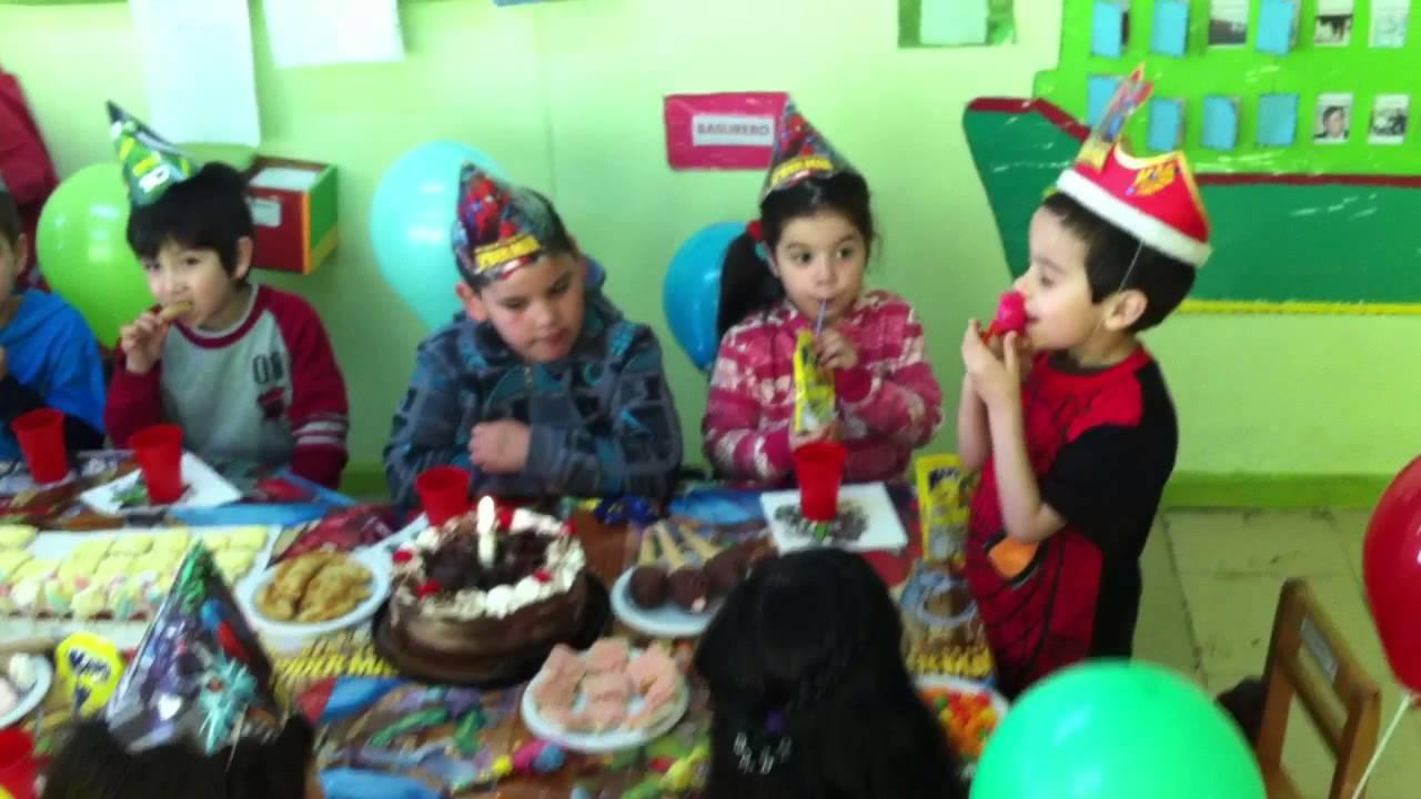 Cumplea os de benjamin en jardin infantil los pioneros for Jardin infantil