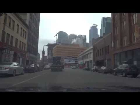 Minneapolis Driving Footage 3/24/15