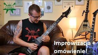 """Improwizacja + omówienie! Fragment kursu """"Szybkie Kostkowanie Naprzemienne"""" - e-gitarzystaTV"""