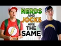 Nerds and Jocks Both Think They're Underdogs
