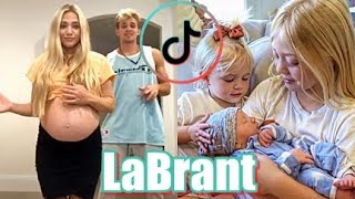 Cole & Savannah Labrant Family TikTok Video Compilation | Meet Baby Z [Zealand]