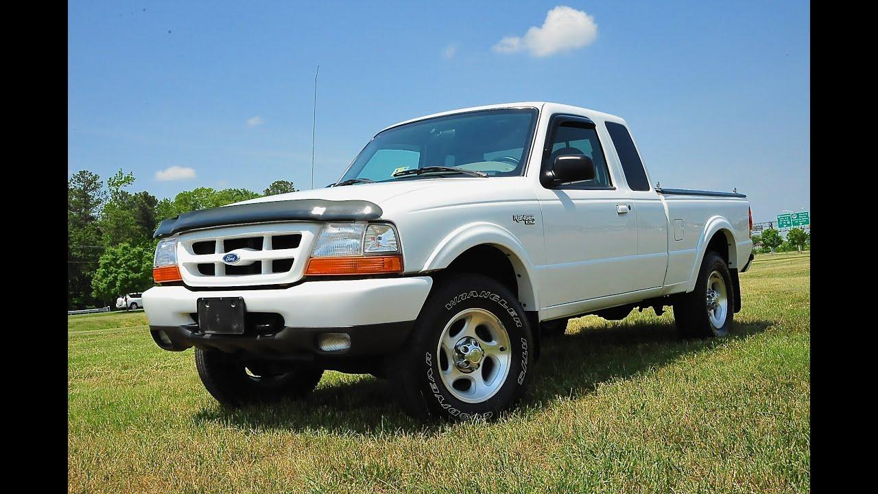 Davis autosports 1999 ford ranger xlt 4x4 4 0l 53k miles for sale