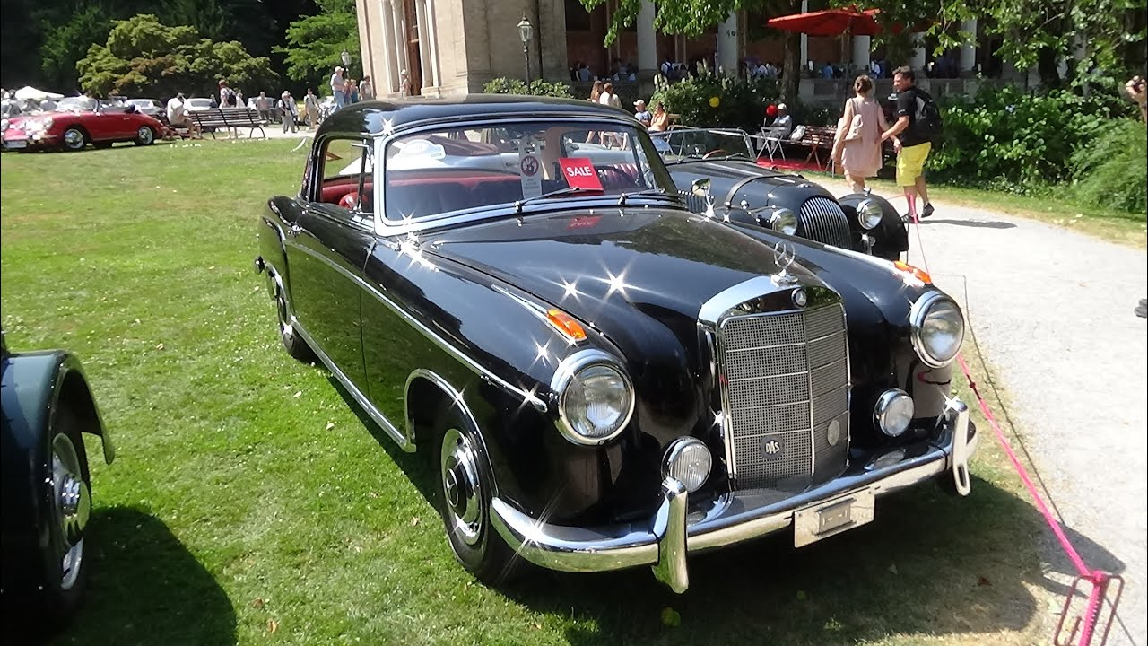 1958 mercedes benz 220 se exterior and interior. Black Bedroom Furniture Sets. Home Design Ideas