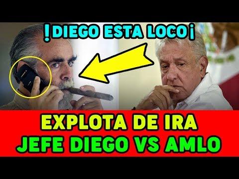 El Jefe Diego ENOJADO con Lopez Obrador AMLO ¡¡LLAMADA FILTRADA!!