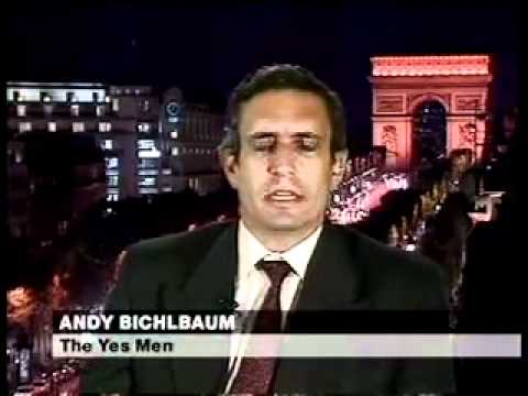 FLASHBACK: The Yes Men Explains Dow Chemical/Bhopal Disaster Prank (2004)
