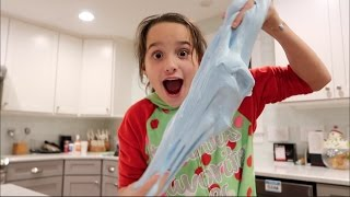 Making Fluffy Slime (WK 311.2) | Bratayley